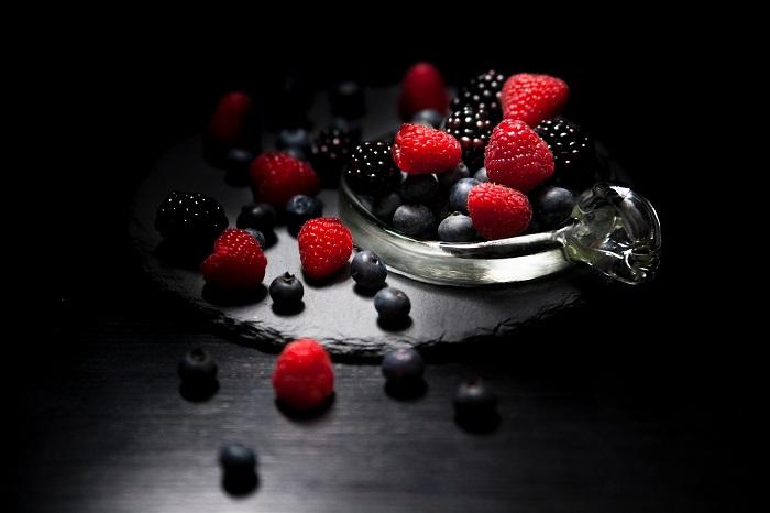 Sušené ovocie z lesa